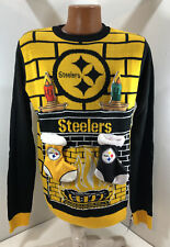 Pittsburgh Steelers Ugly Christmas Sweater - Men's Size Medium