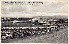 BEGENALSTOWN CO. CARLOW AS SEEN FROM KILCARRIG BRIDGE IRELAND POSTCARD by OWENS