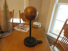 VINTAGE AMERICAN FLAG POLE CO. COPPER SPHERE TOPPER w PULLEY