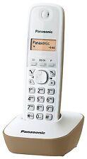 PANASONIC Telefono Cordless Rubrica Chi é Display Illuminato Slim Colore: Beige