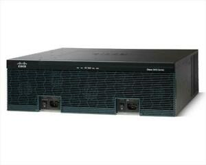 USED Cisco CISCO3925-SEC/K9 3900 Series Integrated Services Router Bundle
