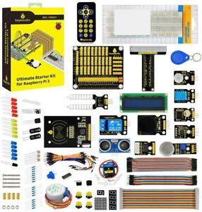 KEYESTUDIO GPIO Cable Breadboard Starter Kit for Raspberry Pi 4 Accessories Set