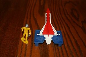 MPC Fireball XL5 Army Space Missile Launcher & Ringhand Soldier - Marx, Timmee