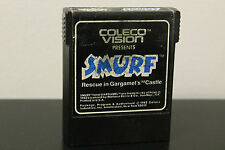 Smurf: Rescue in Gargamel's Castle  (Colecovision, 1982) *Tested / Rare