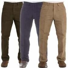 Mens Moleskin Trousers Country Wear Carabou Hunting Fishing Walking Shooting