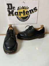 Dr. Martens 1461 Black Leather Shoes Size UK 6.5 EU 40 made in England