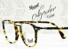 835e24de6660b Persol Men Squared Eyeglasses Po3187v 1056 Havana Frame Demo Customisable  Lens