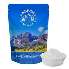 Food Grade Diatomaceous Earth Powder - 3 Lb Aspen Naturals Brand. For Human &...