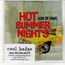 (EN423) Son Of Dave, Hot Summer Nights - 2013 DJ CD
