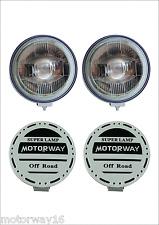 MOTORWAY 9'' 55+55W H3 Universal Halogen Fog Light Jeep Cars SUV 2Pcs/Lot
