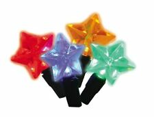 UltraLED Battery Operated Star Twinkle Light String, Multi-Color, 3.5-Feet