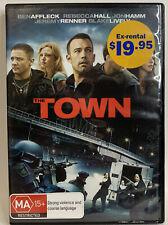 The Town (Dvd, 2011), Ben Affleck, Rebecca Hall, Chris Cooper, Pal Region 4