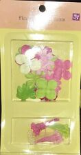 Prima Marketing Scrapbook Paper Flower Kit June Mix stems included! New