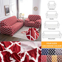 Elastic Sofa Seater Cover Protector Washable Couch Cover Slipcover Decor UK