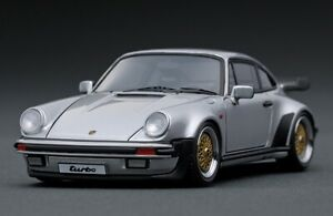 Ignition Model 1:43 Porsche 911 (930) Turbo (Argent) BBS Wheels N Hpi Bbr Make