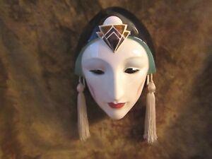 Vintage Art Deco Mask/Pelzman Designs/EXCELLENT!
