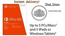 Microsoft Office - 365 - *2016* for PC & Mac - W/Scrap PC- 5 Device* 32 / 64 bit