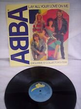 "ABBA, LAY ALL YOUR LOVE ON ME, ON AND ON AND ON, 1981,12"" SINGLE, EX CONDITION"