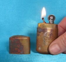 Antique WWI Period Brass Trench Lighter. Working!