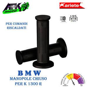 Manopole Chiuso per comandi riscaldati 125 mm Ø 26-26 mm per Moto BMW K 1300 R
