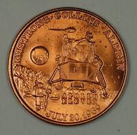 Apollo XI 11 Project Apollo Commemorative Bronze Colored Space Medal