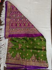 Indian Bollywood Designer Wedding Saree - new design