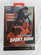 Ihip Sport Hook Wireless Athletic Bluetooth Earbuds Red