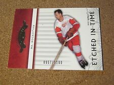2003 04 Upper Deck Classic Portraits #113 Gordie Howe Etched In Time #'d 1100  B