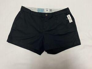 Old Navy Everyday Shorts, Black women's size 10 NWT