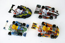 "GO-KART Tony-Kart, Tech Kart by X-Concepts, die-cast  6"" L, SET OF ALL 4-COLORS"