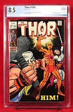 THOR #165 (Marvel) PGX 8.5 VF+ Very Fine Plus FIRST ADAM WARLOCK!!! GOTG3 +CGC!!