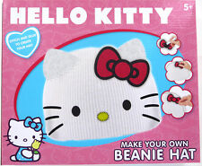 Hello Kitty-Crea Make Your Own Cappello Beanie ARTE E ARTIGIANATO Girl's Gift
