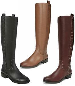 Sam Edelman Women Knee High Tall Riding Boots Prina Leather