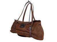 Authentic PRADA Leather Brown Shoulder Bag PS0126