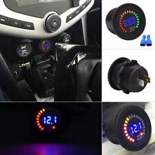 12V Color LED DC Digital Display Voltmeter Panel Tester Volt Car Motorcycle Ship