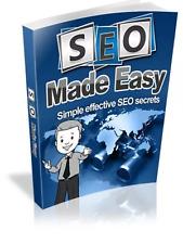 SEO Made Easy & Bonus 10 marketing online ebooks Resell rights Pdf free shipping