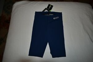 New Arena Racing Powerskin Jammer with tags Sz 28 Navy Blue