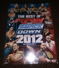 New WWE: The Best of Raw and Smackdown 2012 (DVD, 2013, 3-Disc Set) Freeshipping