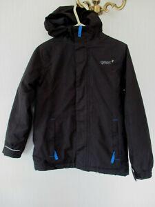 Boys GELERT Black Lite storm wear jacket / anorak aged 7-8 years