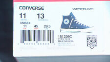 Converse Chuck Taylor All Star '70 Hi-Top True Blue/Navy. Sz. UK 11. New w/ Box.