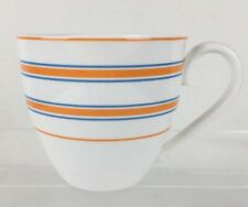 Lenox by Kate Spade Cays Stripe Orange Cup Discontinued