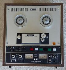 Sony TC-651 Auto-Reverse Reel to Reel Tape Recorder 110-240 50/60Hz CLEAN TESTED
