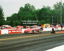 JOHN POWELL 1996 NHRA TOP ALCOHOL FUNNY CAR 8X10 PHOTO PONTIAC EXCITEMENT NATS
