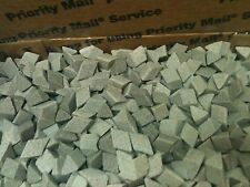 "CERAMIC TUMBLING MEDIA 100 pounds of 3/8"" x 3/8""  SF Triangles"
