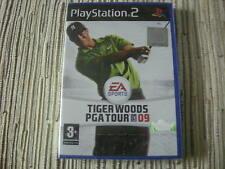 TIGER WOODS PGA TOUR 09 PLAYSTATION 2 2 PS 2 NUEVO Y PRECINTADO