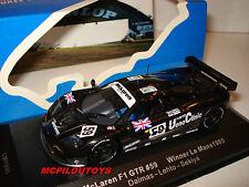 IXO LM1995 MCLAREN F1 GTR N°59 WINNER LE MANS 1995 DALMAS LEHTO SEKIYA  au 1/43°