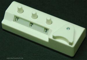 Row Counter for Creative Artisan CG170,70DPlus,70D,GE63 7mm 3.5 Gauge Machine