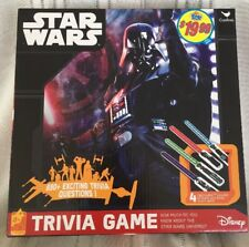 Star Wars Trivia Game SEALED 650 Questions Lightsaber Puzzles Die New 8+