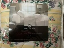 Hotel Collection KING , Hungarian White Goose Down Comforter, 450 Thread Count