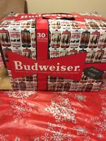 12 oz Budweiser Happy Holidays Empty BEER  Stein Winter Passage 2019 Box 30 Pack